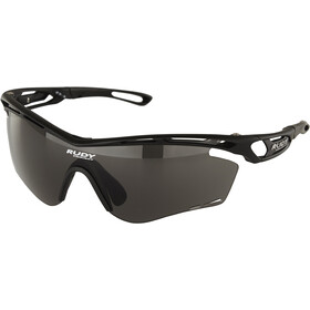 Rudy Project Tralyx Okulary rowerowe, matte black - rp optics smoke black